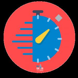 BluCactus - Clock rushing in a circle
