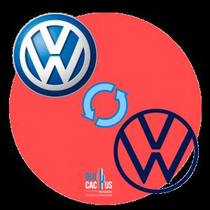 BluCactus - Volkswagen Logo Refreshing