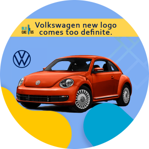 BluCactus - 6 Lessons Volkswagen New Logo Can Teach Us - car