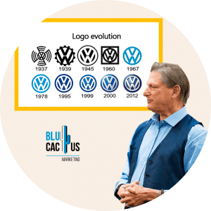 BluCactus - 6 Lessons Volkswagen New Logo Can Teach Us - logos