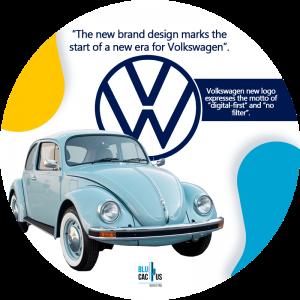 BluCactus -volkswagen new logo - new logo