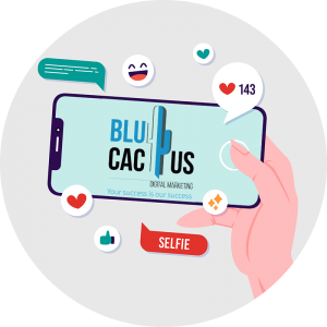 BluCactus - Shares and Interactions