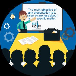 Blucactus - Defining a presentation