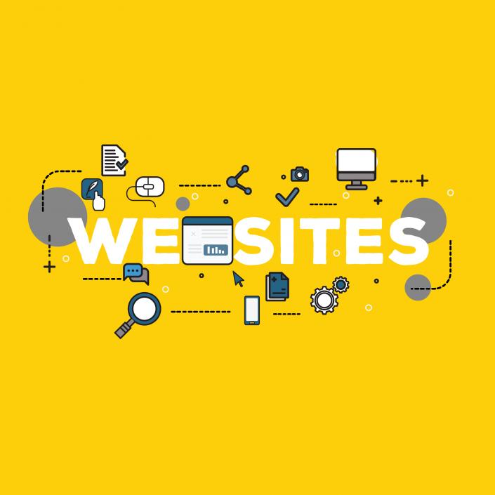 Design and development of websites