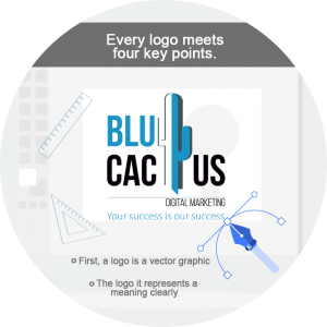 BluCactus / logo