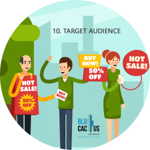 Blucactus - Why brochure advertisement is still useful? - people holding signs with sales