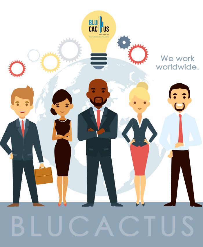 BluCactus Graphic Design Agency - Team of international employees