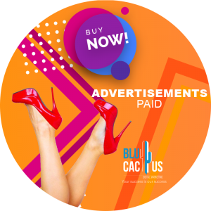 BluCactus - advertisements paid ads with red shoes