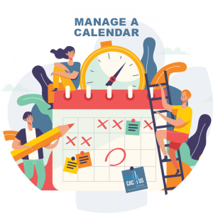 BluCactus - manage a calendar with a lot of people
