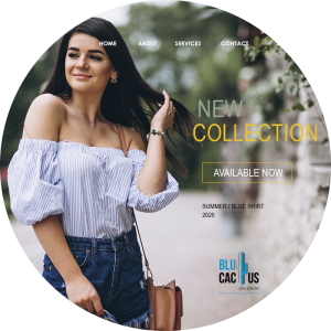 BluCactus - What is Fashion Marketing? - a pretty woman with a nature background and black hair