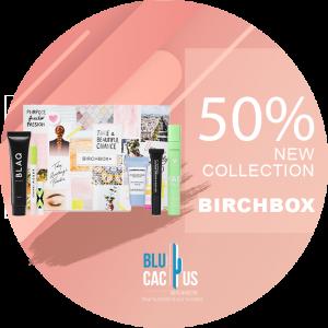 BluCactus - birchbox fifty porcent doscount