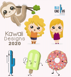 BluCactus - Kawaii designs