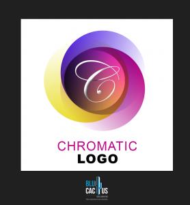 BluCactus - chromatic logo example