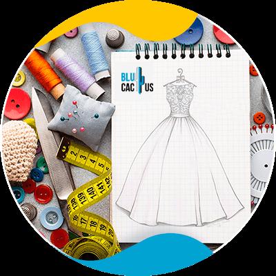BluCactus - dress in a paper