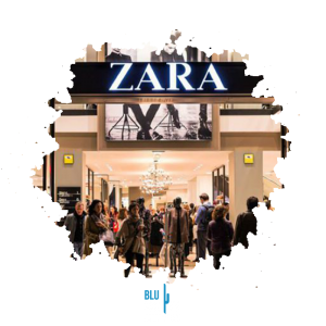 BluCactus - Marketing strategies for fashion brands - Zara store