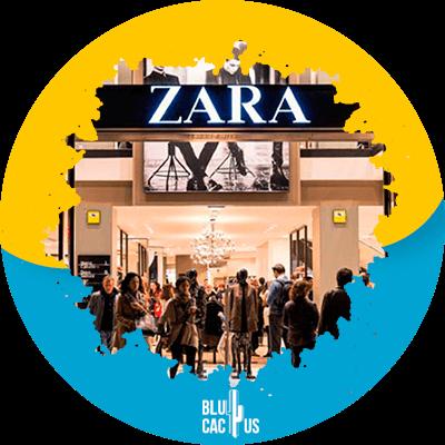 BluCactus - Marketing strategies for fashion brands - Zara store