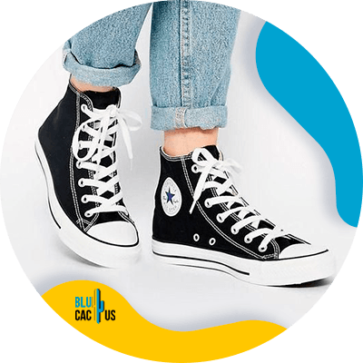BluCactus - How to Position your Shoe Brand? - converse
