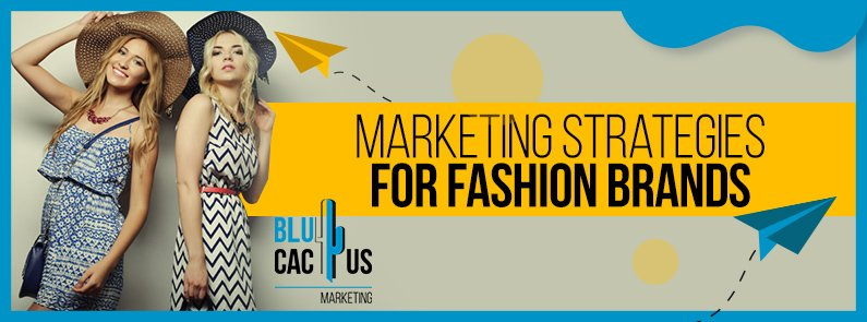 BluCactus - Marketing strategies for fashion brands - girl with polka dots in her tshirt