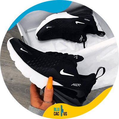 BluCactus - How to Position your Shoe Brand? - nike