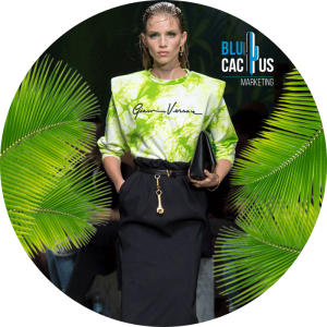 BluCactus -  versace collection with a green tshirt