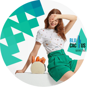 BluCactus - fashion trends for 2020 - girl sitting and smiling with green shorts