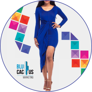 BluCactus - pretty blue dress