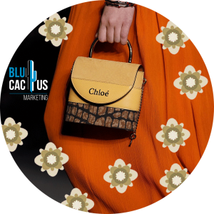 BluCactus - chloe purse in the runway