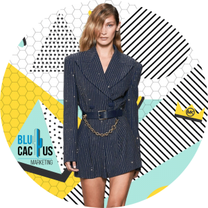 BluCactus - fashion trends for 2020 - bella hadid with a black professional suir