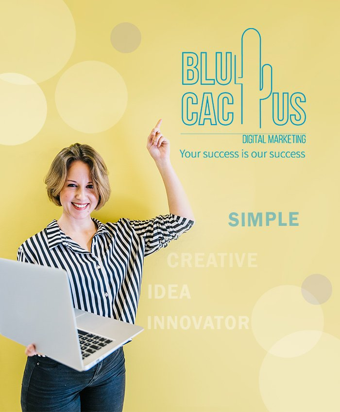 BluCactus - Logo Design Process