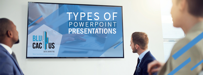 Blucactus-Types-of-Power-Point-Presentations-Cover-Page