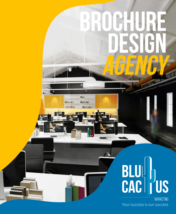BluCactus Brochure Design Agency