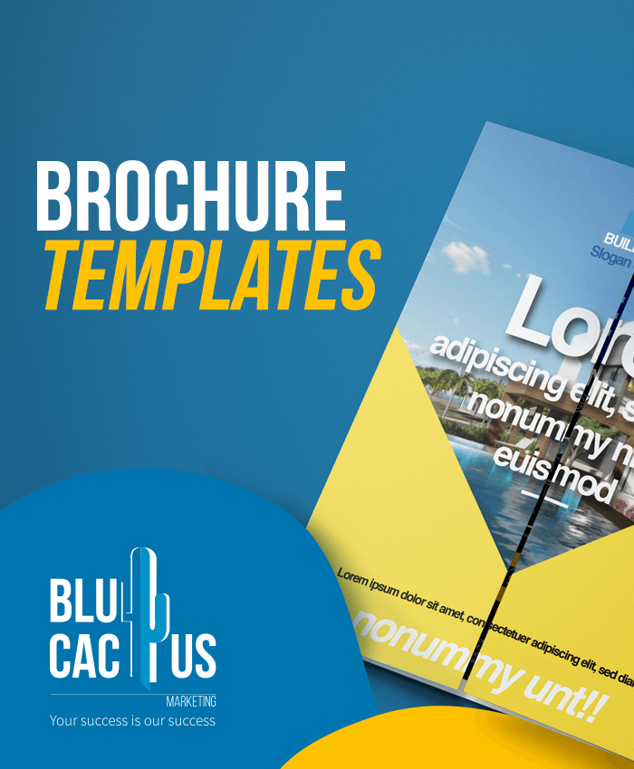 BluCactus Brochure Design Agency - Brochure Templates
