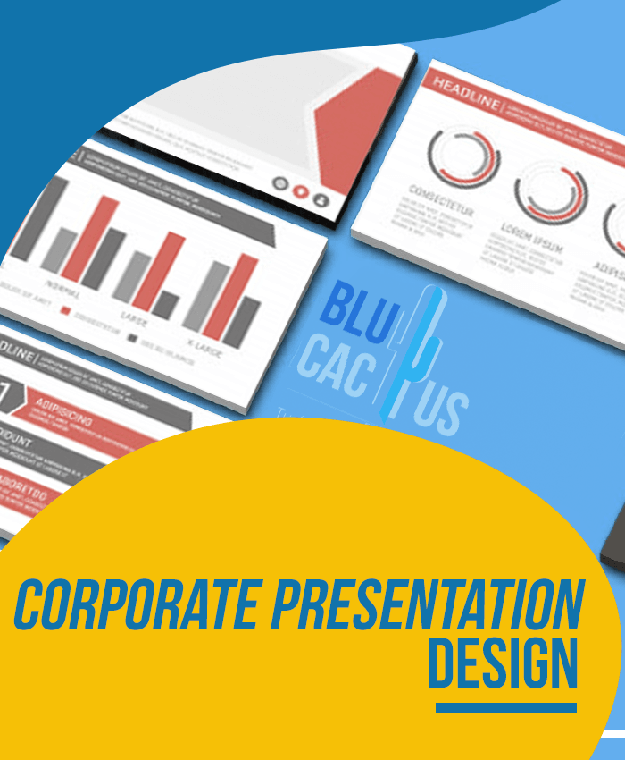BluCactus - Corporate Presentation Design