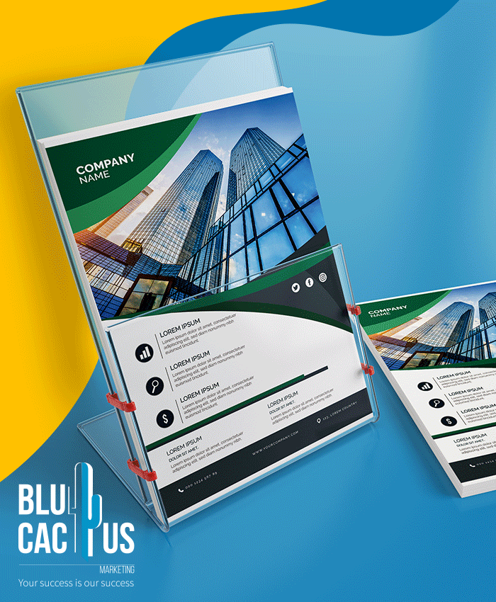 BluCactus Interaction Brochure Design