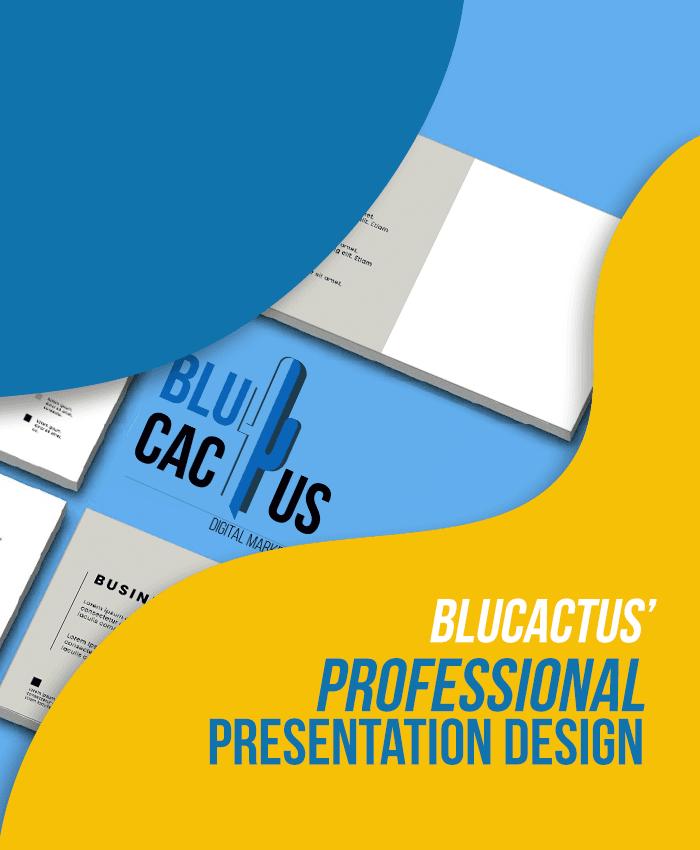BluCactus - Professional Presentation Design Company