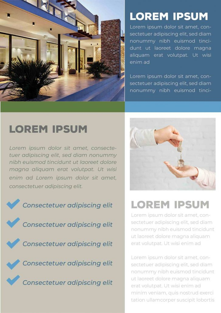 Real State Company Brochure Template