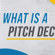 BluCactus - What is a pitch deck - title