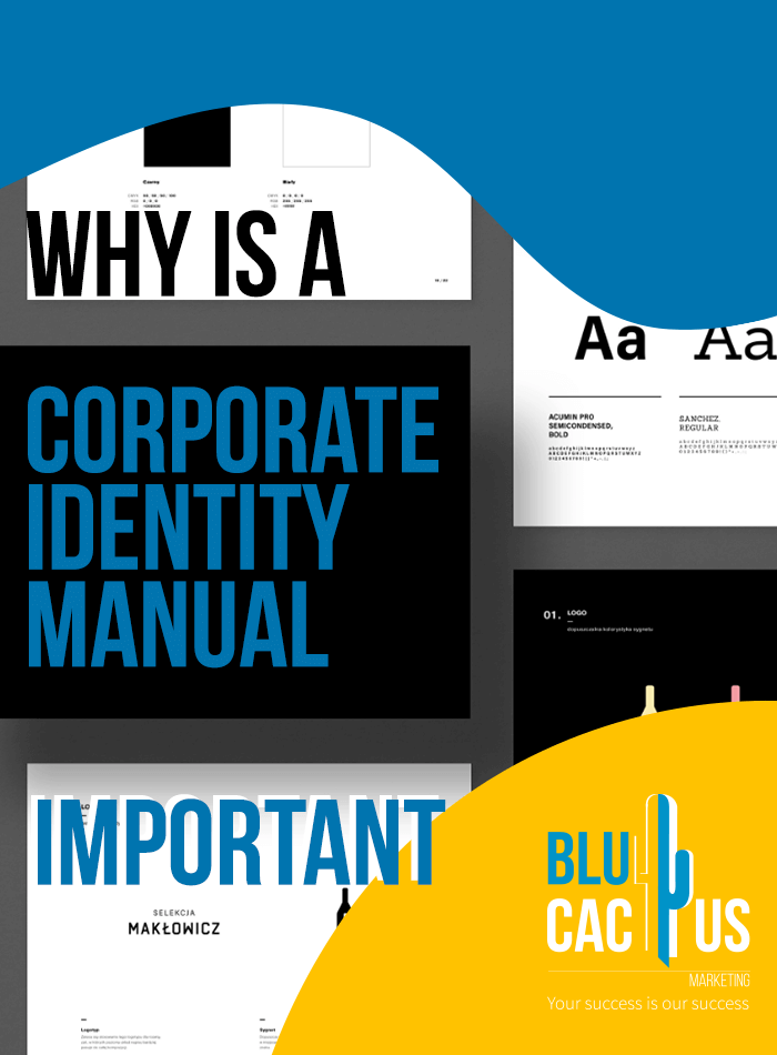 BluCactus - Why is a corporate identity Manual Important?