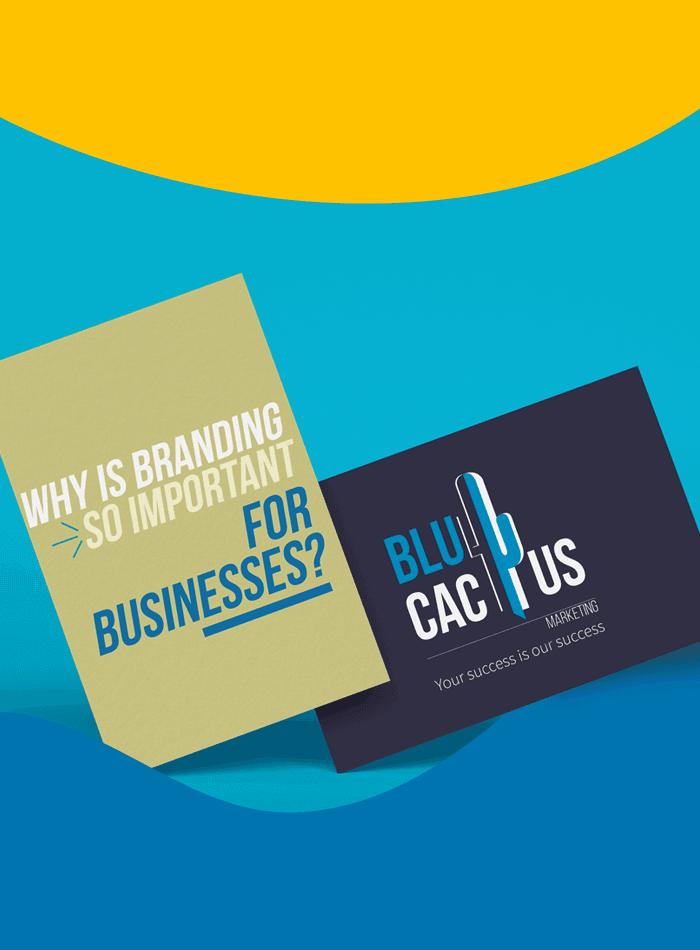BluCactus - Business cards