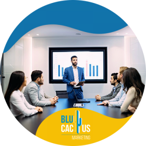 BluCactus - What is a pitch deck? - a team of profesionals in a meeting room