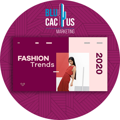 BluCactus - Trends in Web Design- a page of fashin marketin open