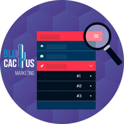 BluCactus - Trends in Web Design - a different color tabs open