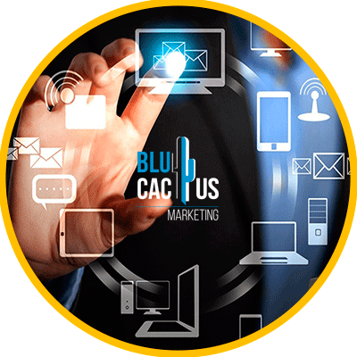 BluCactus - What is Inbound Marketing? - computer with information on it and data