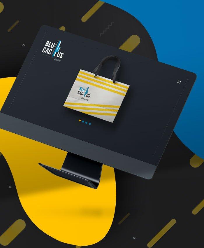 BluCactus Web Design Company - eCommerce