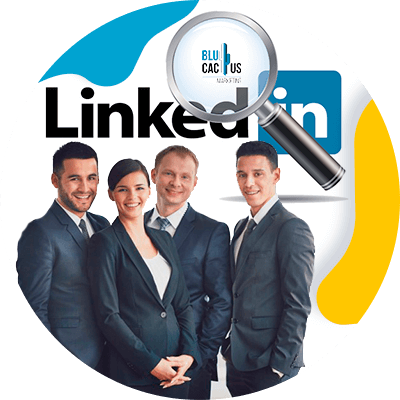 BluCactus - LinkedIn for Business - profesional people working