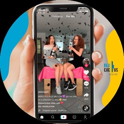 BluCactus - TikTok - person working with hr cellphone