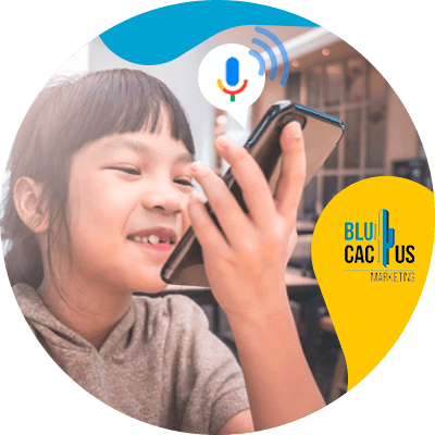 BluCactus - voice search - people talking in the phone