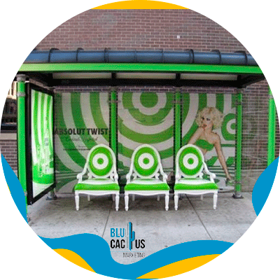 BluCactus - OOH advertising - urban furniture