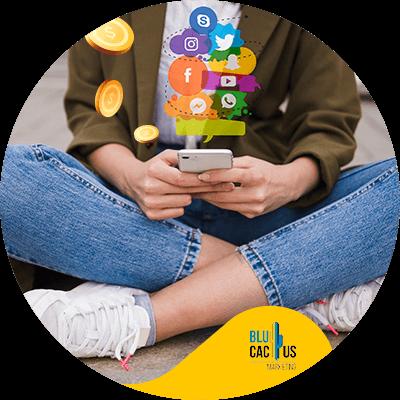 BluCactus - main social networks