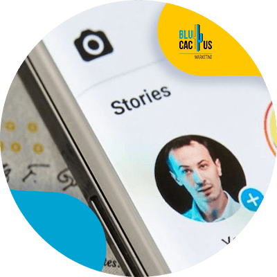 BluCactus - LinkedIn Stories - person in a storie